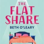 The book cover of The Flat Share by Beth O'Leary. Picture of a bed with two pillows.