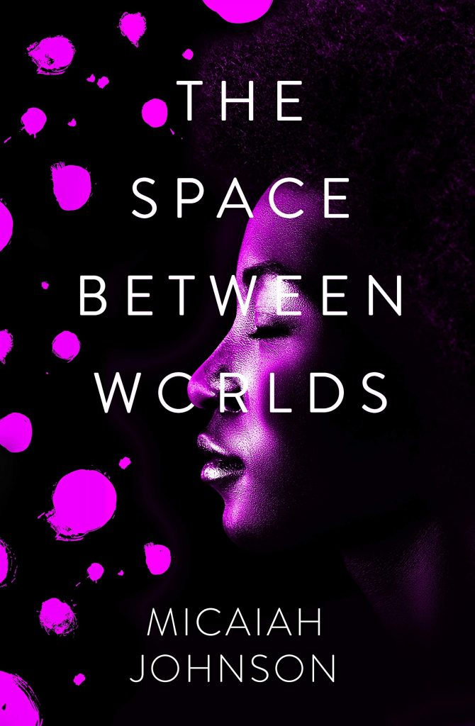 The cover image of the book - The Space Between Worlds by Micaiah Johnson.